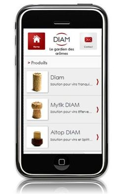 Diam launches a mobile version of its website!